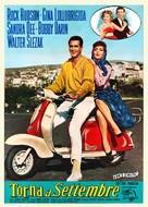 Come September - Italian Movie Poster (xs thumbnail)