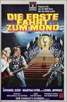 First Men in the Moon - German Movie Poster (xs thumbnail)