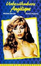 Indomptable Angèlique - German VHS movie cover (xs thumbnail)
