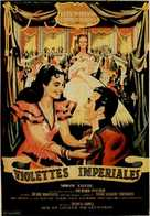 Violetas imperiales - French Movie Poster (xs thumbnail)