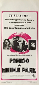 The Panic in Needle Park - Italian Movie Poster (xs thumbnail)