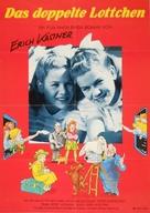 Doppelte Lottchen, Das - German Movie Poster (xs thumbnail)