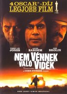 No Country for Old Men - Hungarian DVD cover (xs thumbnail)
