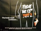 Friday the 13th Part 2 - British Movie Poster (xs thumbnail)