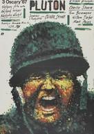 Platoon - Polish Movie Poster (xs thumbnail)