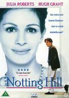 Notting Hill - Danish Movie Cover (xs thumbnail)