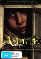 Neco z Alenky - Australian DVD cover (xs thumbnail)