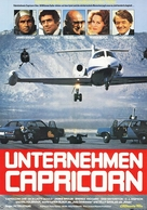Capricorn One - German Movie Poster (xs thumbnail)
