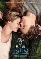 The Fault in Our Stars - Spanish Movie Poster (xs thumbnail)