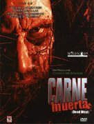 Dead Meat - Spanish DVD cover (xs thumbnail)