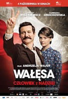 Walesa. Czlowiek z nadziei - Polish Movie Poster (xs thumbnail)