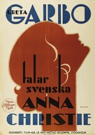 Anna Christie - Swedish Movie Poster (xs thumbnail)