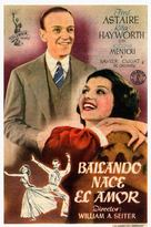 You Were Never Lovelier - Spanish Movie Poster (xs thumbnail)
