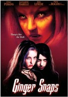 Ginger Snaps - DVD cover (xs thumbnail)