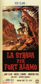 Strada per Fort Alamo, La - Movie Poster (xs thumbnail)