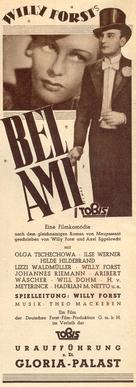 Bel Ami - German poster (xs thumbnail)