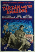 Tarzan and the Amazons - Movie Poster (xs thumbnail)