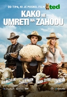 A Million Ways to Die in the West - Slovenian Movie Poster (xs thumbnail)