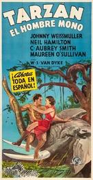 Tarzan the Ape Man - Mexican Movie Poster (xs thumbnail)
