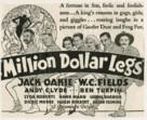 Million Dollar Legs - Movie Poster (xs thumbnail)