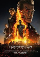 Terminator Genisys - German Movie Poster (xs thumbnail)