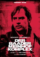 Der Baader Meinhof Komplex - German Movie Poster (xs thumbnail)