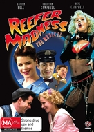 Reefer Madness: The Movie Musical - Australian Movie Cover (xs thumbnail)