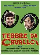 Febbre da cavallo - Italian Theatrical movie poster (xs thumbnail)