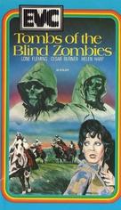 La noche del terror ciego - Dutch VHS movie cover (xs thumbnail)