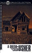 La chute de la maison Usher - Brazilian VHS cover (xs thumbnail)