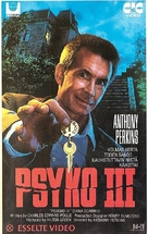 Psycho III - Finnish VHS movie cover (xs thumbnail)