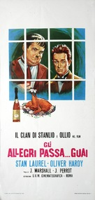 Another Fine Mess - Italian Movie Poster (xs thumbnail)