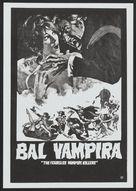 Dance of the Vampires - Yugoslav Theatrical poster (xs thumbnail)