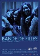 Bande de filles - German Movie Poster (xs thumbnail)