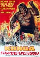 Konga - German Movie Poster (xs thumbnail)