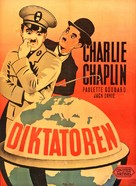 The Great Dictator - Danish Movie Poster (xs thumbnail)
