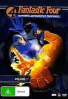"""Fantastic Four"" - Australian DVD movie cover (xs thumbnail)"