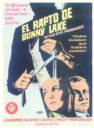 Bunny Lake Is Missing - Spanish Movie Poster (xs thumbnail)