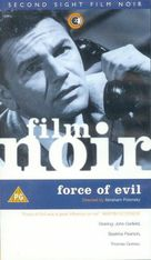 Force of Evil - British VHS movie cover (xs thumbnail)