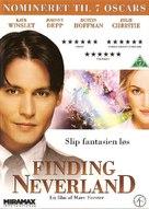 Finding Neverland - Danish DVD movie cover (xs thumbnail)