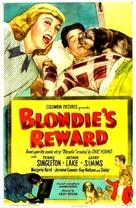 Blondie's Reward - Movie Poster (xs thumbnail)