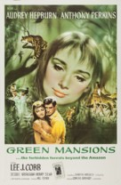 Green Mansions - Movie Poster (xs thumbnail)