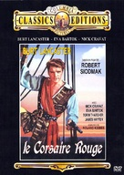 The Crimson Pirate - French Movie Cover (xs thumbnail)