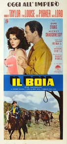 The Hangman - Italian Movie Poster (xs thumbnail)