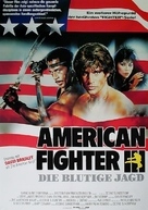 American Ninja 3: Blood Hunt - German Movie Poster (xs thumbnail)