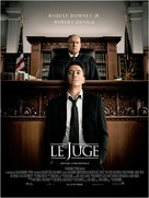 The Judge - French Movie Poster (xs thumbnail)