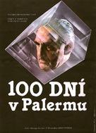 Cento giorni a Palermo - Czech Movie Poster (xs thumbnail)