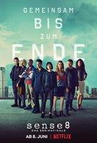 """""""Sense8"""" - German Movie Poster (xs thumbnail)"""