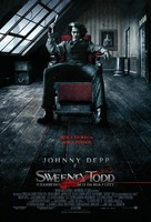 Sweeney Todd: The Demon Barber of Fleet Street - Brazilian Movie Poster (xs thumbnail)