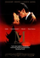 M. Butterfly - German Movie Poster (xs thumbnail)